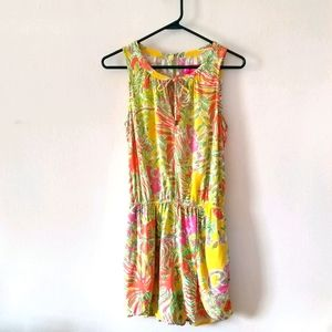 Lilly Pulitzer for Target Yellow/Pink Romper Small
